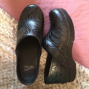 Dansko Black Clogs Size 39